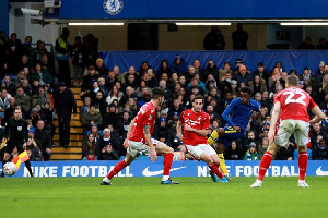 Chelsea FC forward, Callum Hudson-Odoi