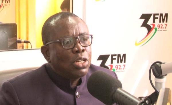 Deputy minister for Monitoring and Evaluation, William Kusi Sabi