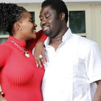 Mercy Johnson with her husband
