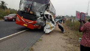 VVIP Accident Okanta