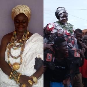 Nana Anima Basahyia Framo I succeeded Nana Adwoa Agyekumwaa