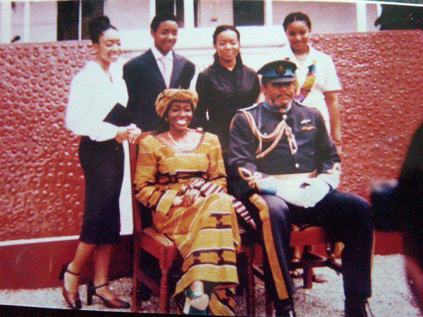 The family of the late JJ Rawlings