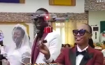 Drone delivers rings at wedding of Funny Face's ex-wife