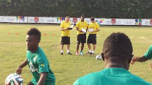 Coach Avram Grant Training