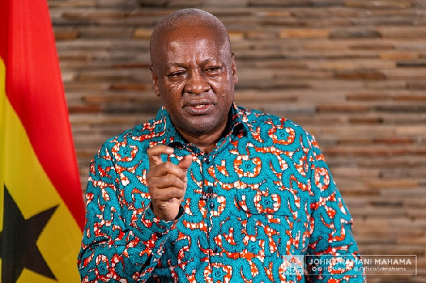 John Mahama condemns 66% sale of Kotoka Airport to private firm