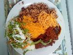 waakye with stew