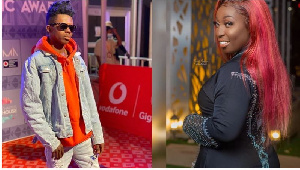 Strongman and Rapper Eno peformed Day 1 of the 2020 VGMAs