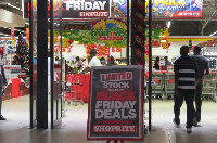 A countdown has already began for the mall's highly anticipated Black Friday sales