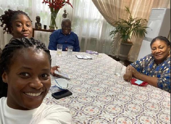 Akufo-Addo is at presidential villa – Presidency denies travel report