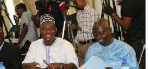 Alhassan Suhuyini was stopped from questioning Boakye Agyarko during his vetting