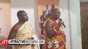 Chief of Akwamu Adumasa, Nana Ansah Kwao IV