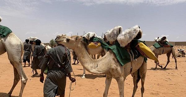 Members of Mauritania's Mehari National Guard