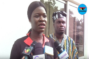Communications Officer of the Ghana Anti-Corruption Coalition, Faustina Djabatey