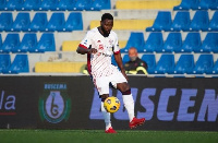 Cagliari midfielder Kwadwo Asamoah