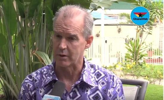 Australian High Commissioner to Ghana, Andrew Barnes