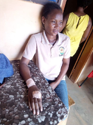 One of the attacked victims