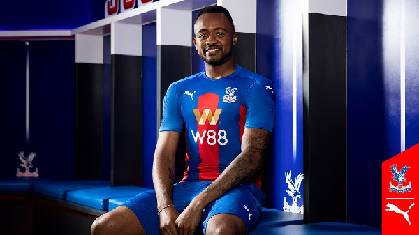 Crystal Palace boss gives update on condition of Jordan Ayew's coronavirus
