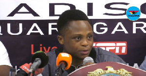 Dogboe will once again defend his junior featherweight title, this time against Emanuel Navarrete
