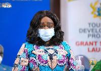 Minister of Tourism Arts and Culture, Mrs Barbara Oteng-Gyasi