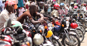 File photo: Some Okada riders