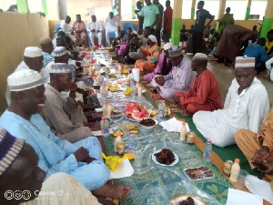 The Ifter was organised on behalf of Mr Mahama by Alhaji Yussif Sulemana, former Bole MP