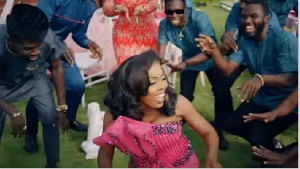 Nana Aba abd Clemento Suarez feature in Kuami Eugene's new music video