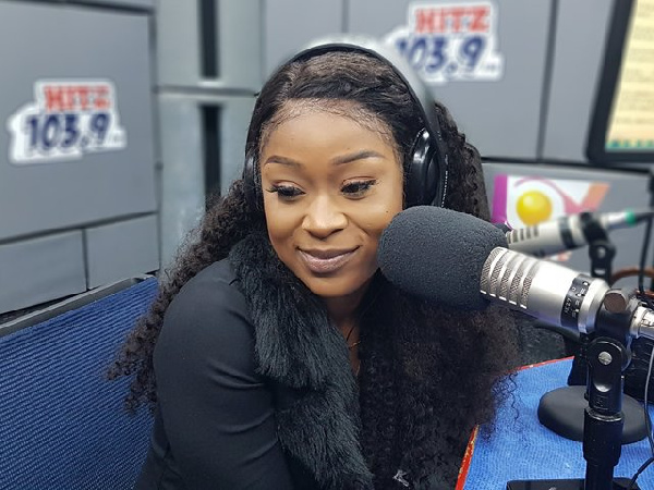 Efia Odo roars at attackers of celebrities who went to meet Cardi B