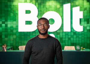 Nonso Onwuzulike, is the Ghana Country Manager for Bolt, a ride-hailing platform.