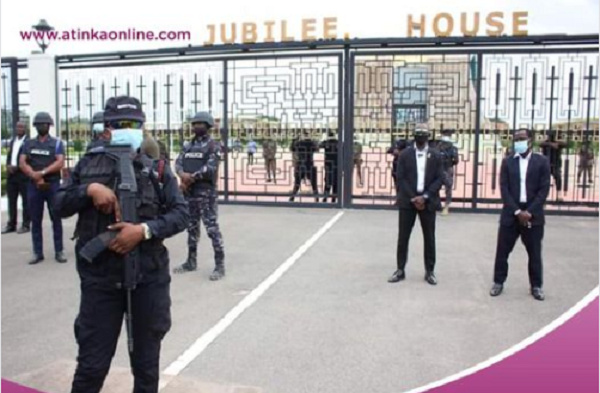 How security personnel \'protected\' Jubilee House ahead of NDC's demo