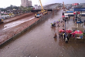 Accra flooded again
