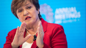 Kristalina Georgieva is MD of IMF