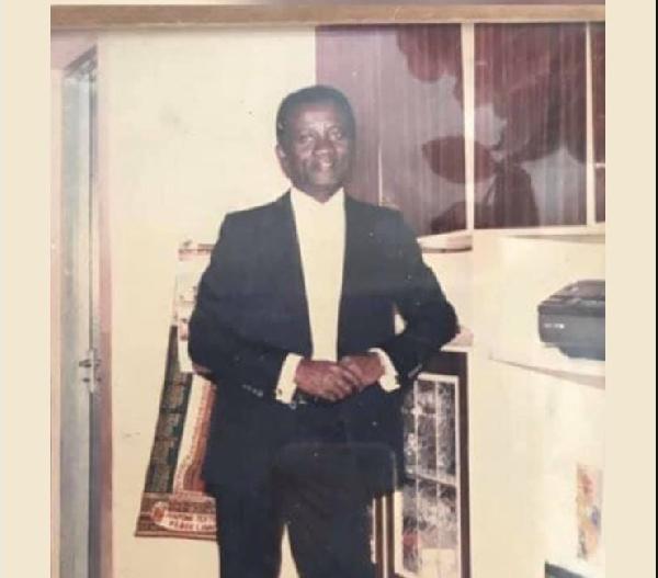 Gabby Asare Otchere-Darko loses father