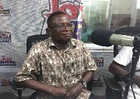 Senior Research Fellow of Institute for Democratic Governance, Mr Kwesi Jonah