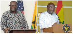 The debate over whether Alan [L] or Bawumia [R] will succeed Nana Addo has already began