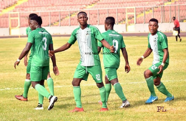 King Faisal, Legon Cities share spoils at Obuasi