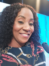 Annie Afua Ampofo is the host of Good Morning Ghana
