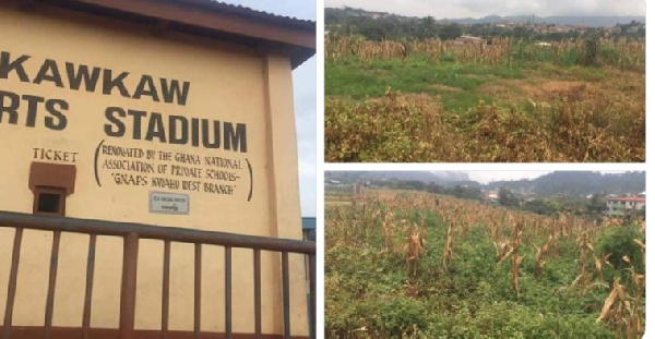Dejected Nkawkaw Sports Stadium set to undergo massive renovation