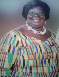 Madam Janet Edna Nyame, Executive Director of the National Commission on Culture