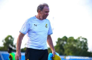 Black Stars coach Milovan Rajevac