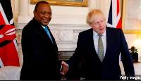 Uhuru Kenyatta & Boris Johnson - The two countries will co-host an education summit mid next year