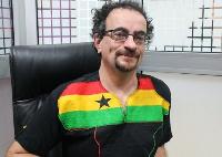 Former British High Commissioner to Ghana, Jon Benjamin