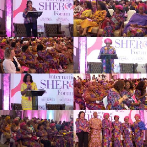 Some Women Leaders at the 8th International SHEROES Forum