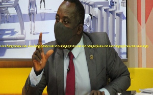 Chief Director For The Ministry Of Parliamentary Affairs, Dr. Evans Aggrey Darko