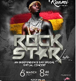 Kuami Eugene to headline 'The Rockstar Concert' on March 6