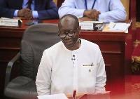 Finance Minister: Ken Ofori-Atta