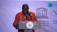 President Nana Addo Dankwa Akufo-Addo says corruption is reducing under his tenure