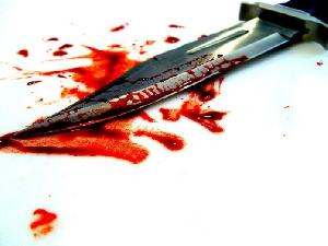 Commader Stabbed