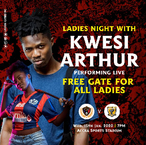 Kwesi Arthur is the next musician to perform after Shatta Wale