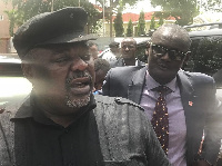 Koku Anyidoho [L] was picked up by the police over 'treasonable' comments