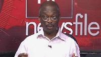 Editor-in-Chief of the New Crusading Guide newspaper, Kweku Baako